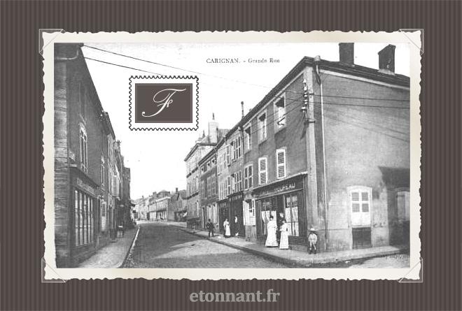 Carte postale ancienne : Carignan