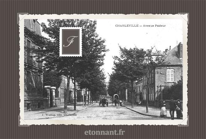 Carte postale ancienne de Charleville-Mézières (08 Ardennes)