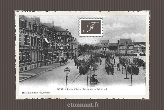 Carte postale ancienne : Givet