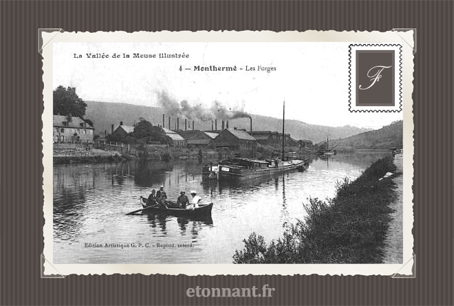 Carte postale ancienne : Monthermé