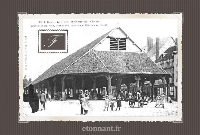 Carte postale ancienne de Rethel (08 Ardennes)