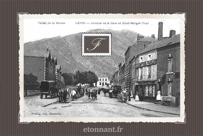 Carte postale ancienne : Revin