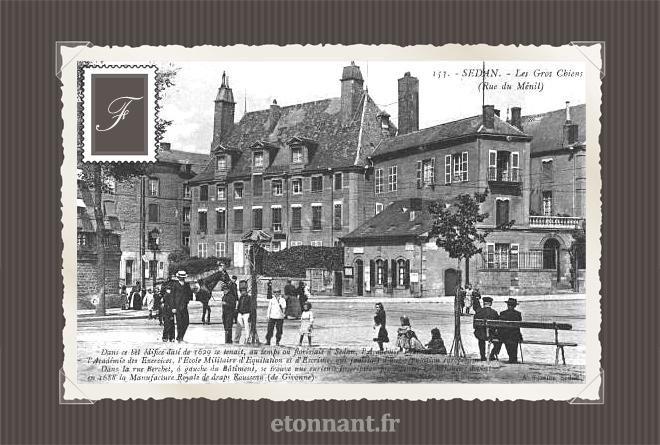 Carte postale ancienne de Sedan (08 Ardennes)