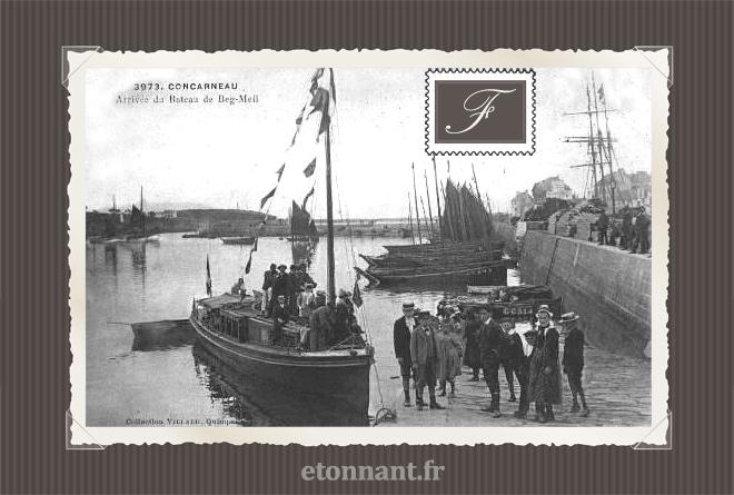 Carte postale ancienne : Concarneau