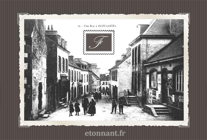 Carte postale ancienne : Plougastel-Daoulas