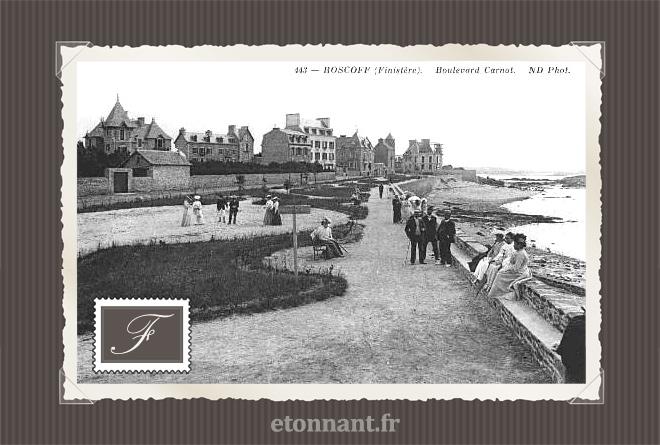 Carte postale ancienne : Roscoff