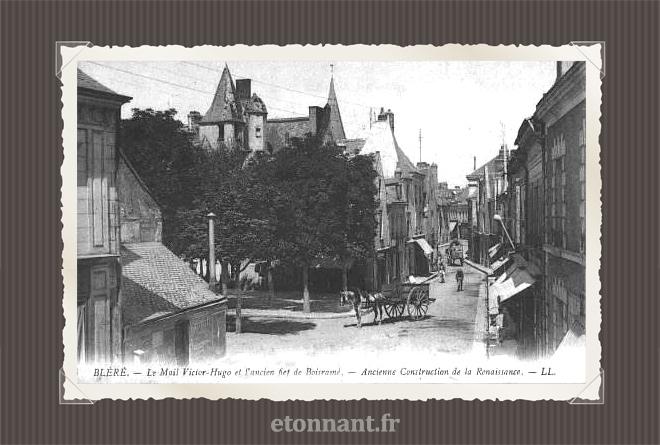 Carte postale ancienne : Bléré