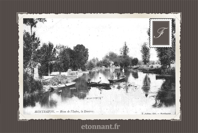 Carte postale ancienne : Montbazon