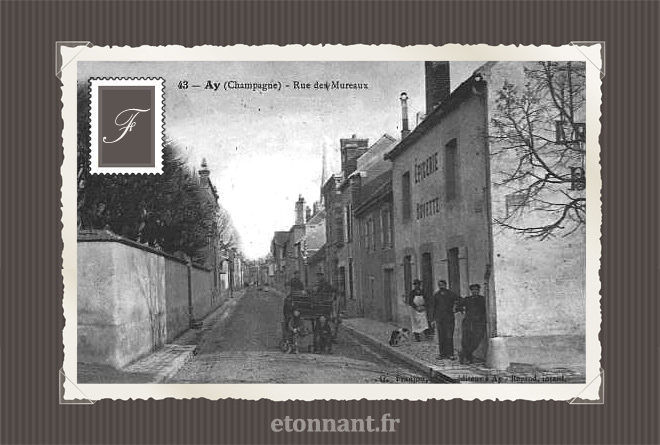 Carte postale ancienne : Ay