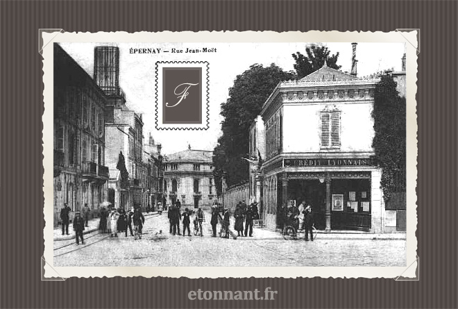 Carte postale ancienne de Epernay (51 Marne)