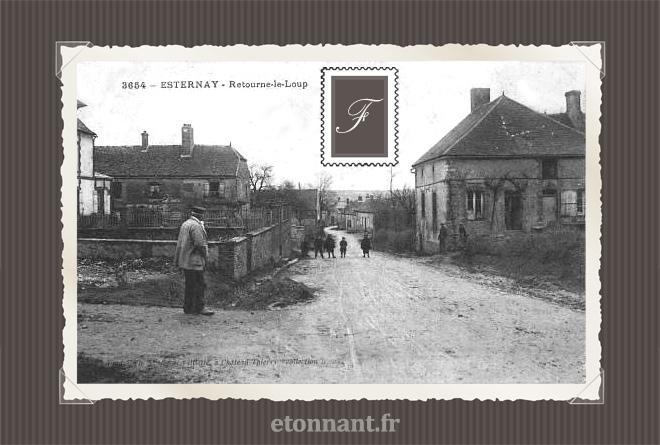Carte postale ancienne : Esternay