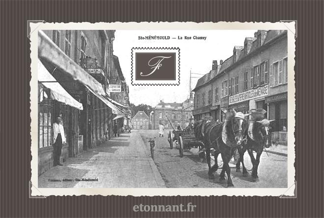 Carte postale ancienne de Sainte-Menehould (51 Marne)