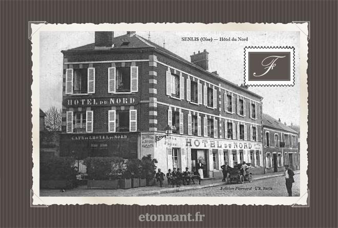 Carte postale ancienne de Senlis (60 Oise)