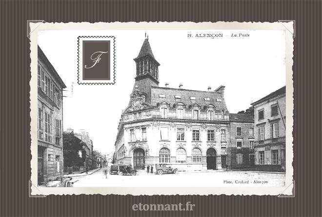 Carte postale ancienne de Alençon (61 Orne)