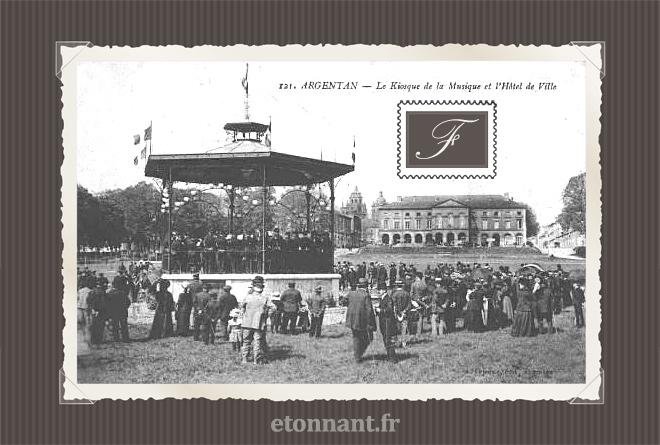 Carte postale ancienne de Argentan (61 Orne)