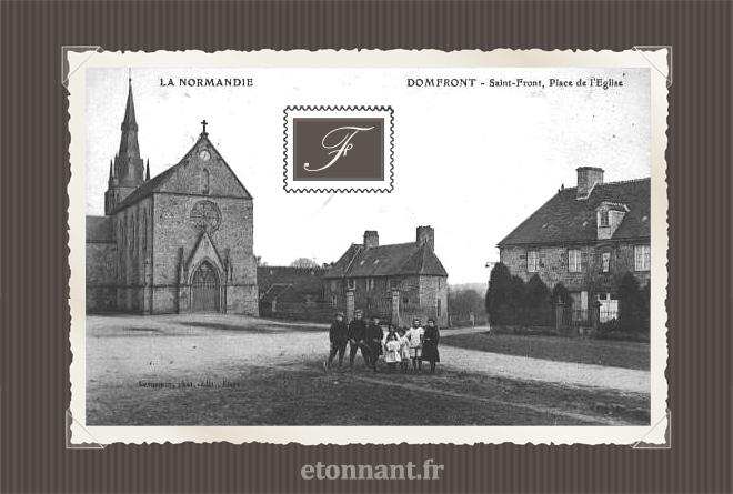 Carte postale ancienne : Domfront