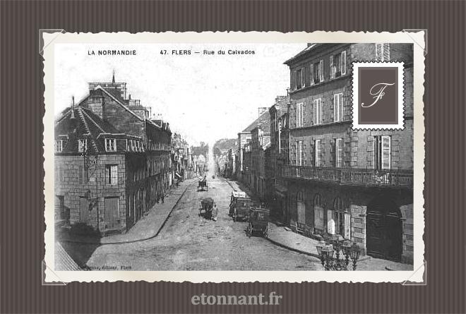 Carte postale ancienne : Flers