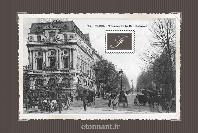 Carte postale ancienne de Paris (10ème arrondissement)