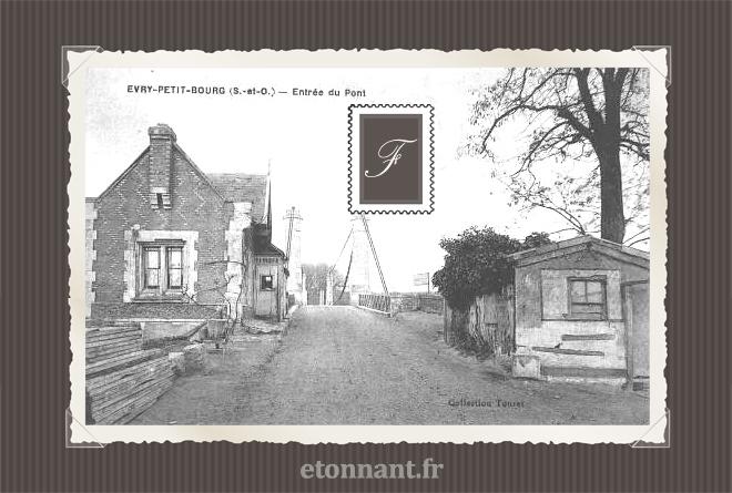 Carte postale ancienne de Évry (91 Essonne)