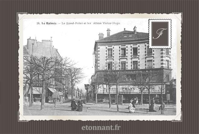 Carte postale ancienne : Le Raincy