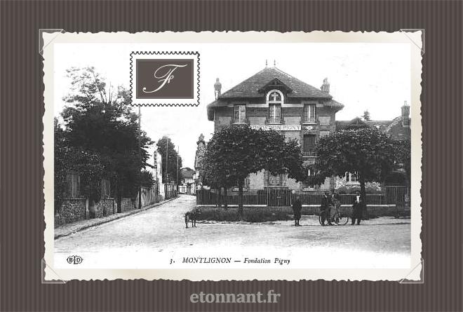 Carte postale ancienne : Montlignon