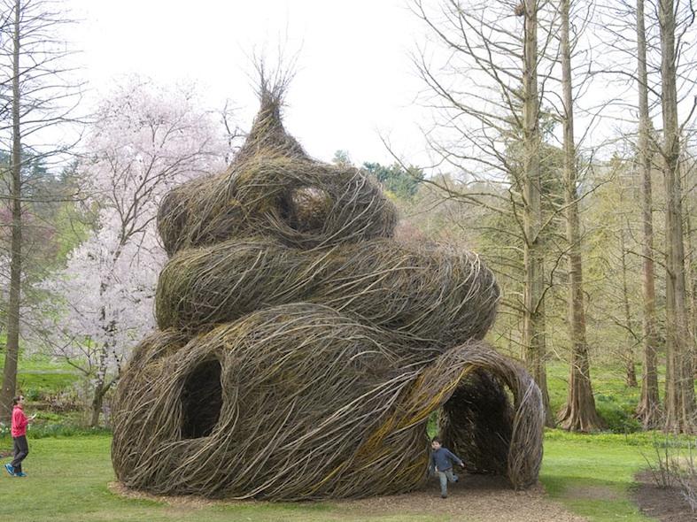 sculpture de branches