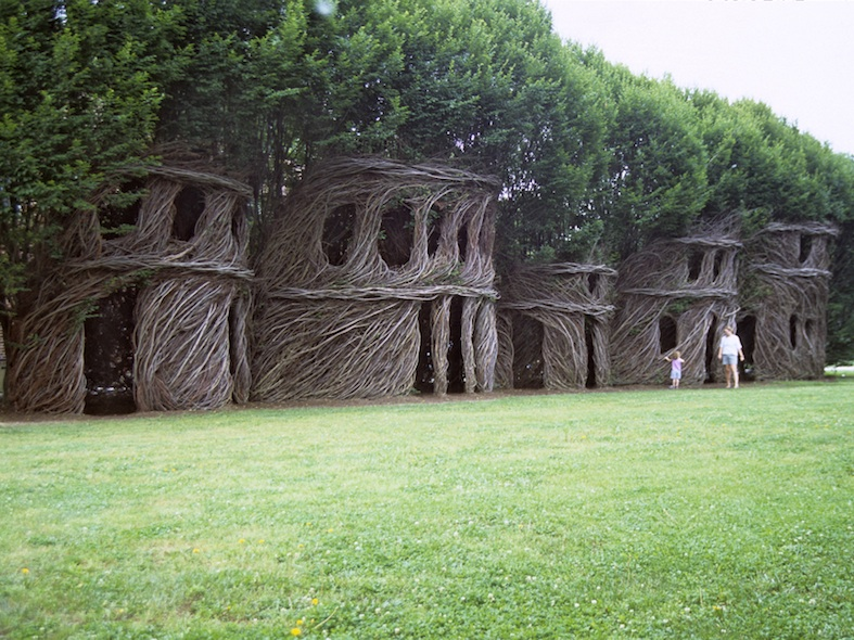 sculpture de branches
