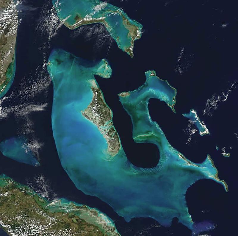 photo satellite de la terre