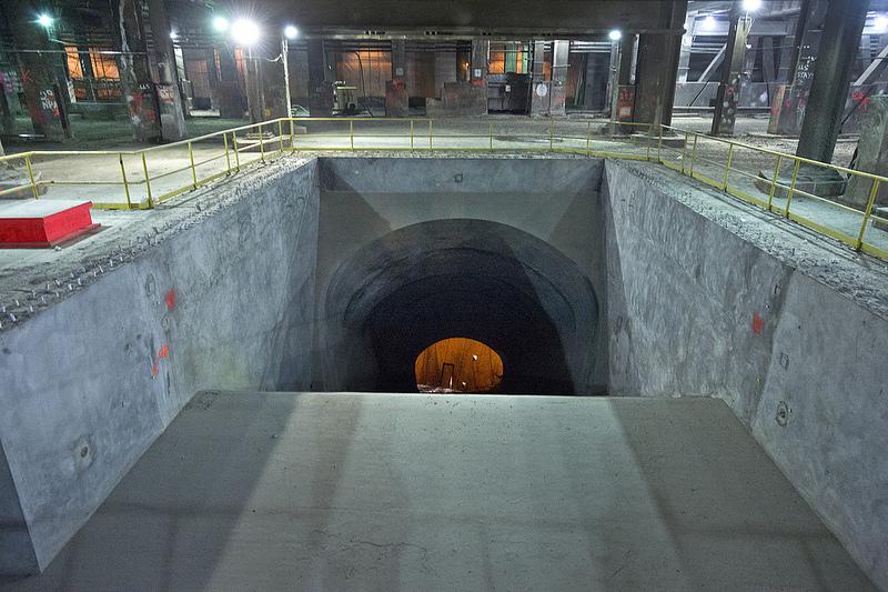 travaux effectués sous Grand Central Terminal à New York