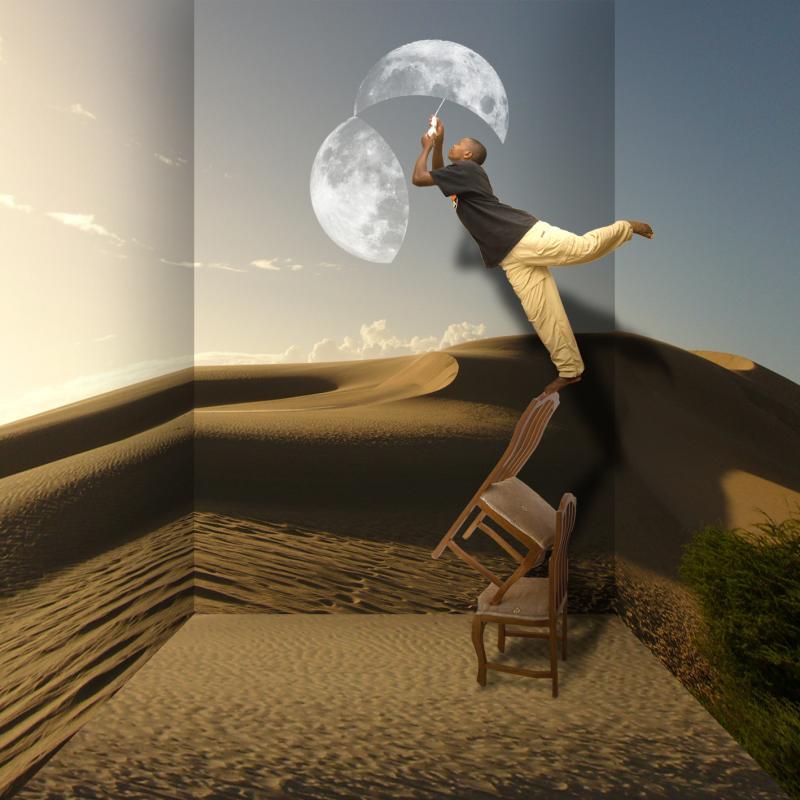 Photomontages étranges de Robbert van der Steeg