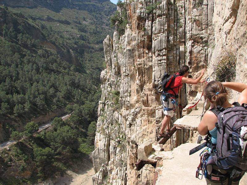 Caminito del Rey en Espagne