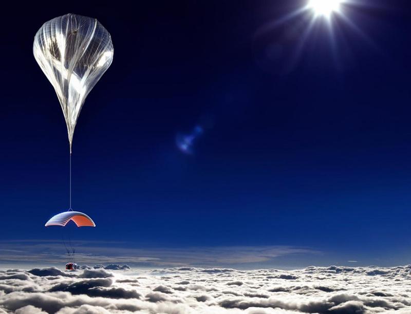 montgolfière de l'espace