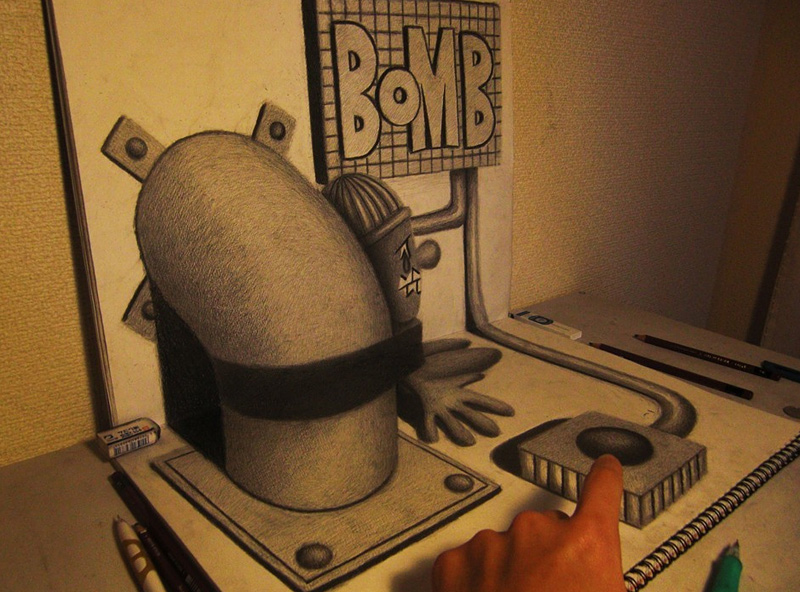 dessin 3D