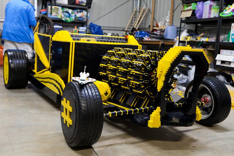 voiture en Lego