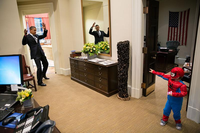 Obama à la Maison Blanche