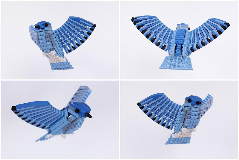 oiseau en lego