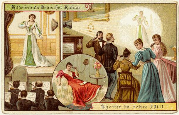 le futur selon les Allemands en 1900