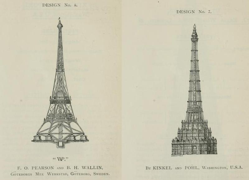 tour Eiffel à Londres
