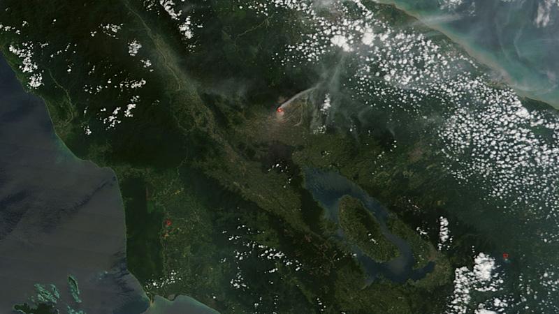 volcan sinabung toba