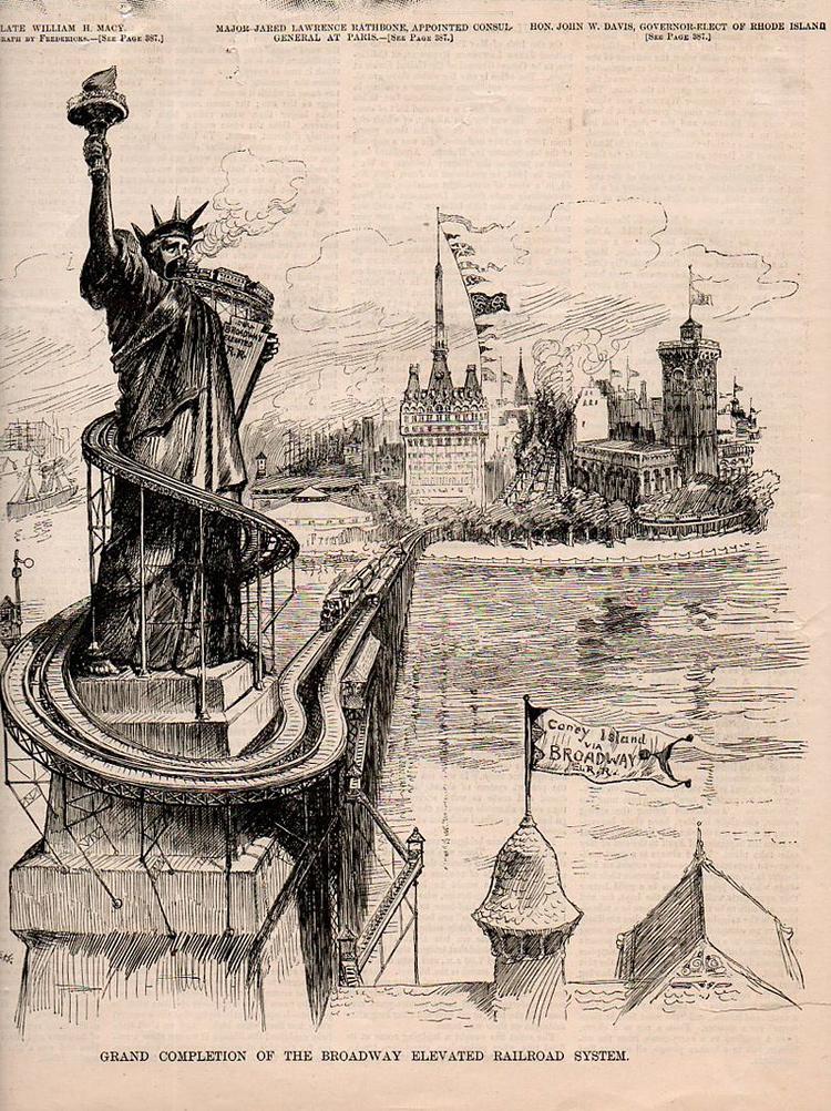 projet fictif et futuriste pour NewYork