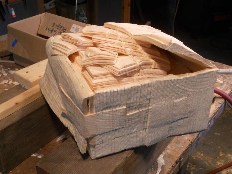 sculpture en bois réaliste