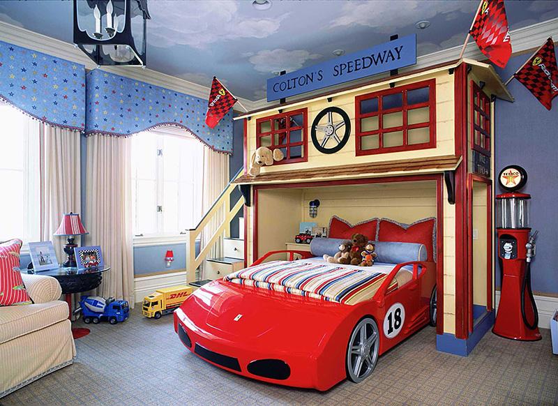 chambre enfant insolite