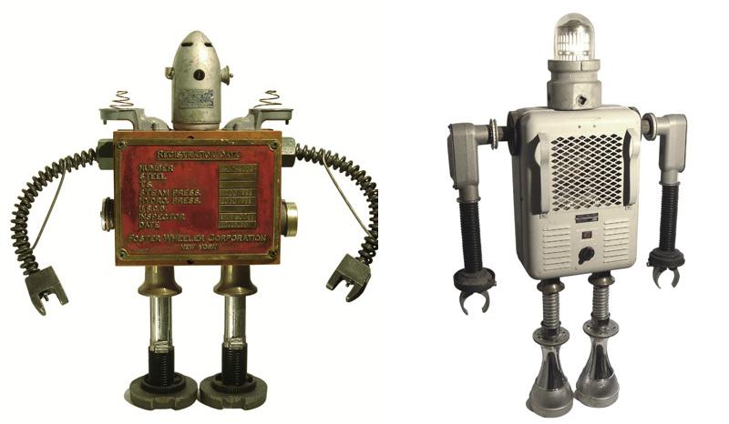 sculpture de robot