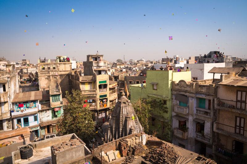 cerf-volant en Inde
