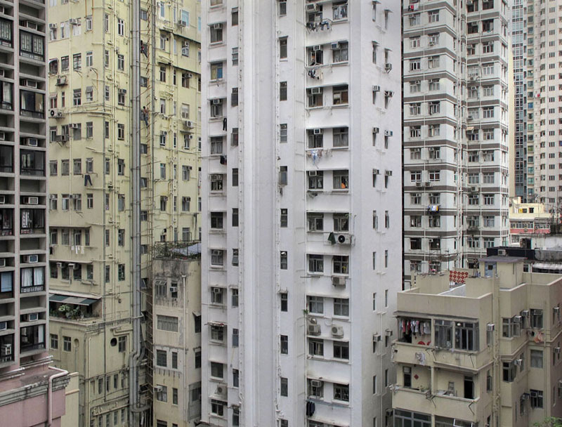 immeubles à Hong Kong