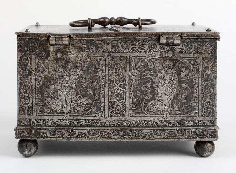 Coffre-fort en acier, 1570-1600, Allemagne