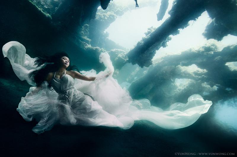 photos sous-marines surréalistes