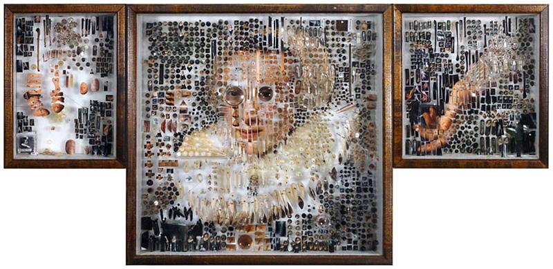 reproduction de portrait de peinture hollandaise