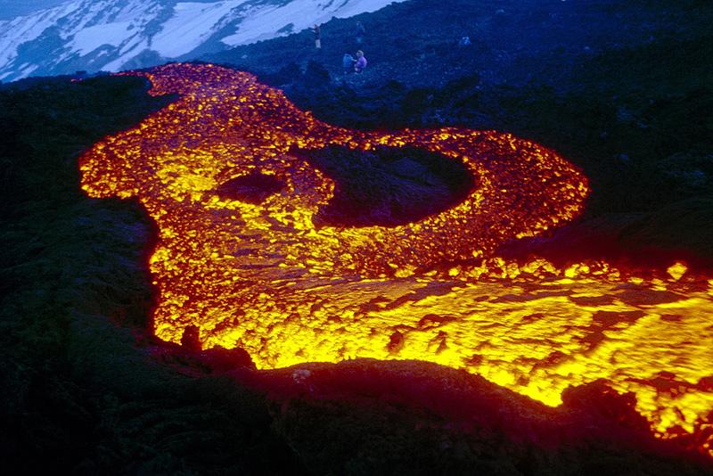 lave de volcan