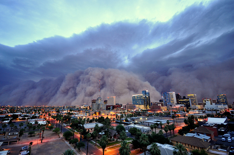tempête de sable